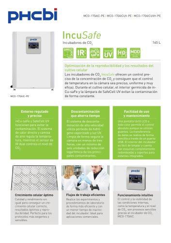 MCO-170AIC-PE Incubadores de CO2
