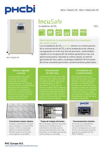 MCO-170AICD-PE Incubadores de CO2