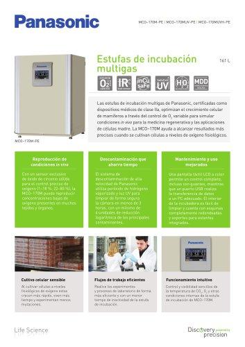 MCO-170M IncuSafe Estufas de incubación