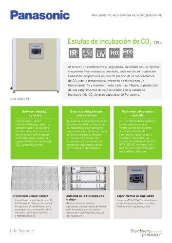 MCO-230AIC IncuSafe Estufas de incubación de CO2