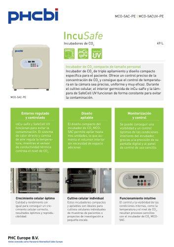 MCO-5AC-PE Incubadores de CO2