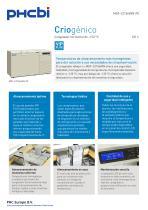 MDF-C2156VAN-PE Congelador horizontal de –150 °C - 1