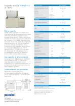MDF-C2156VAN-PE Congelador horizontal de –150 °C - 2