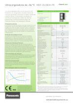 MDF-DU300H PRO ECO Ultracongeladores de –86 °C - 2