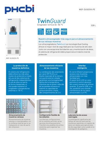 MDF-DU502VX-PE Congelador vertical de –86 °C