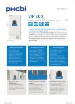 MDF-DU702VH-PE Congelador vertical de –86 °C con refrigerantes naturales - 1