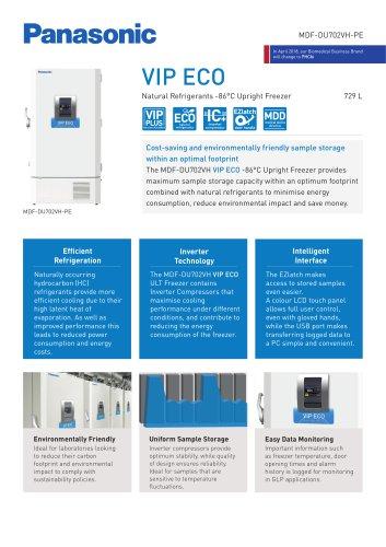 MDF-DU702VH-PE VIP ECO ULT Freezer