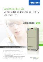 MDF_U5412H Serie Biomedical Eco Congelador de plasma de –40 °C - 1