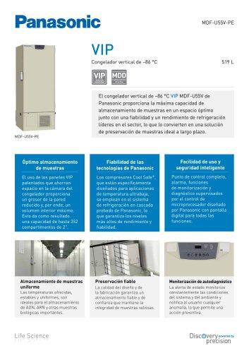 MDF-U55V VIP Congelador vertical de -86 °C