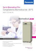 MDF-U731M Congeladores Biomedical de –30 °C - 1