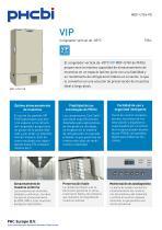 MDF-U76V-PE Congelador vertical de -85°C - 1