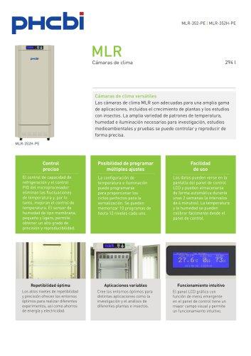 MLR-352-PE Cámara de clima