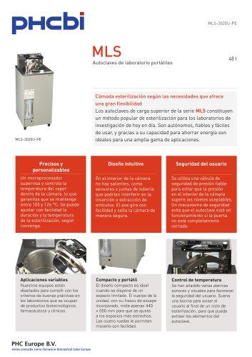 MLS-3020U-PE Autoclaves de laboratorio portátiles