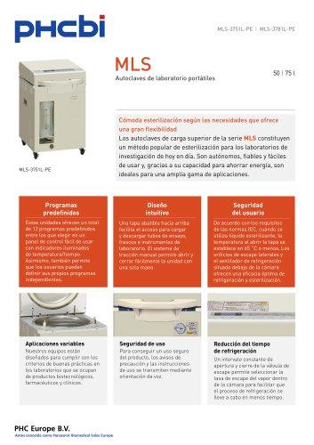 MLS-3751L-3781L Autoclaves de laboratorio portátiles