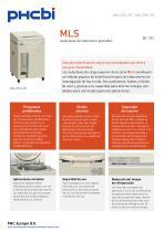 MLS-3751L-PE Autoclaves de laboratorio portátiles - 1