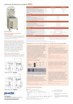 MLS-3751L-PE Autoclaves de laboratorio portátiles - 2