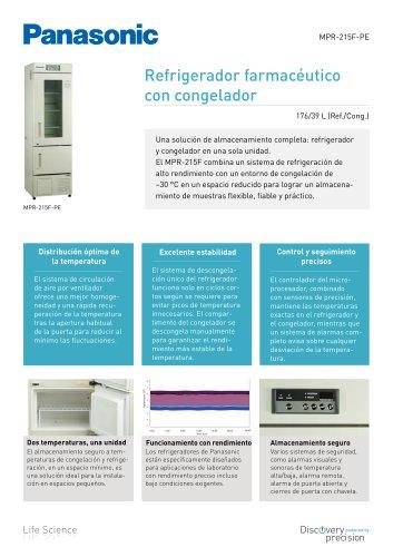 MPR-215F Refrigerador farmacéutico con congelador