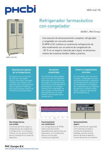 MPR-414F-PE Refrigerador farmacéutico con congelador
