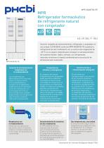 MPR-414F-PE Refrigerador farmacéutico con congelador - 1