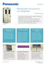 MPR-414F Refrigerador farmacéutico con congelador - 1