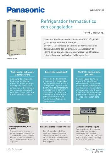 MPR-715F Refrigerador farmacéutico con congelador