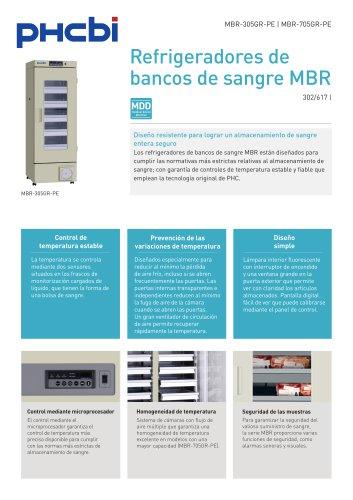 Refrigeradores de bancos de sangre MBR