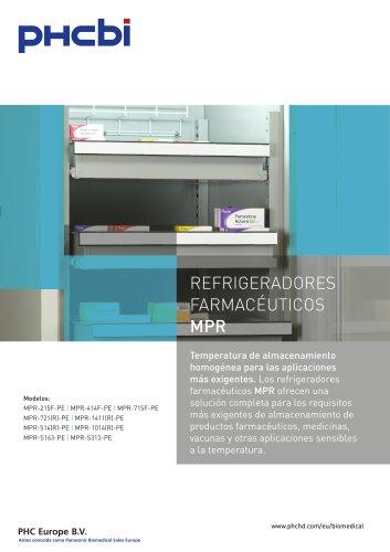REFRIGERADORES FARMACÉUTICOS MPR