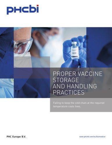 Vaccine Storage E-Book