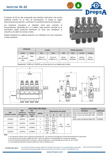DL 32 Injector