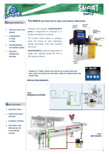 The SIMPLE solution for oïl and fluid grease lubrication