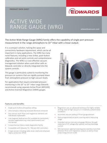 ACTIVE WIDE RANGE GAUGE (WRG)