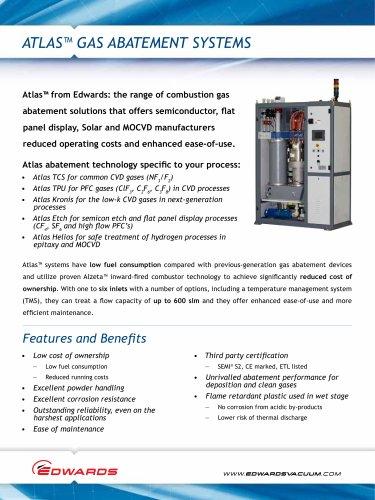 Atlas? Gas Abatement Systems