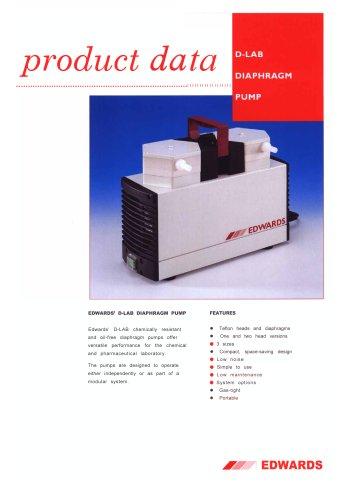 D-Lab Diaphragm vacuum pump