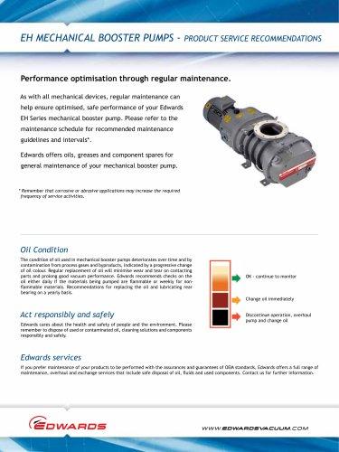 EH Mechanical Booster Pumps Datasheet