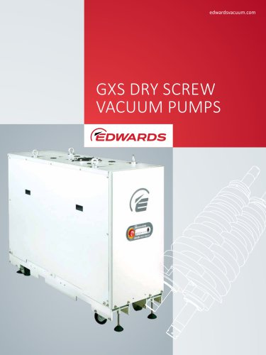 gxs dry screw vacuum pumps