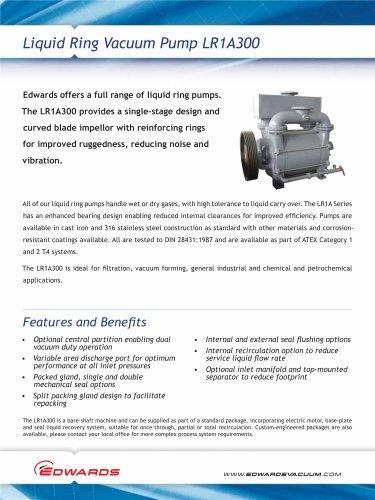 LR1A300 Liquid Ring Pump datasheet