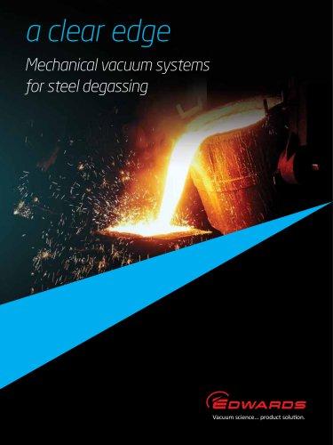 Mechanical Vacuum Systems for Steel Degassing brochure