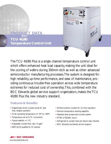 Temperature Control Unit Datasheet