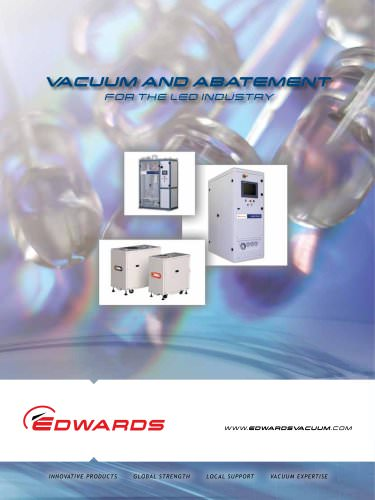 Vacuum and Abatement for the LED Industry