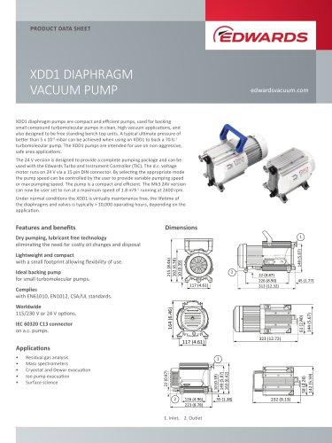 XDD1 DIAPHRAGM VACUUM PUMP