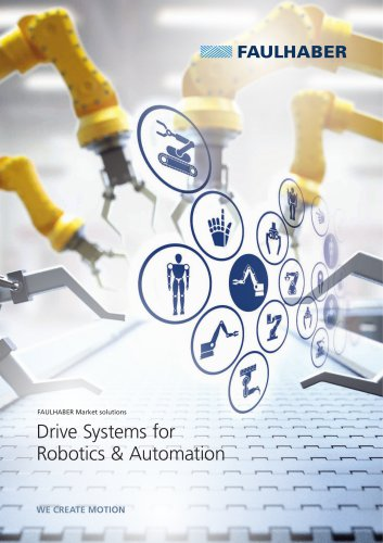 Drive Systems for Robotics & Automation