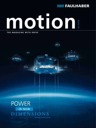 motion 02.2018 The magazine with drive