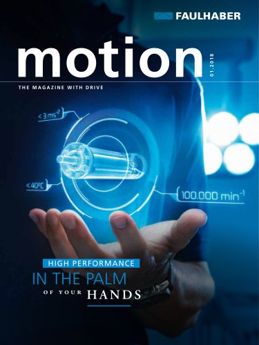 motion the magazine with drive 1/2018