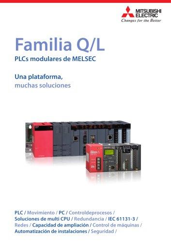 Familia Q/L PLCs modulares de MELSEC Una plataforma, muchas soluciones