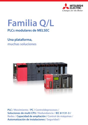 Familia Q/LPLCs modulares de MELSEC