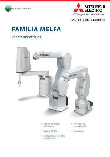 Robots Industriales Sinopsis global de las opciones