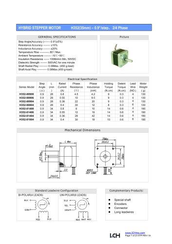 H352(0.9degree)35mm-2/4 phase