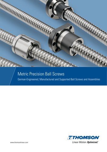 Metric Precision Ball Screws – Made in Germany