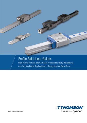 Profile Rail Linear Guides