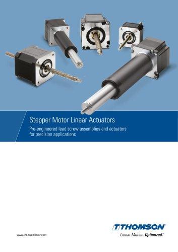Stepper Motor Linear Actuators / Motorized Lead Screws